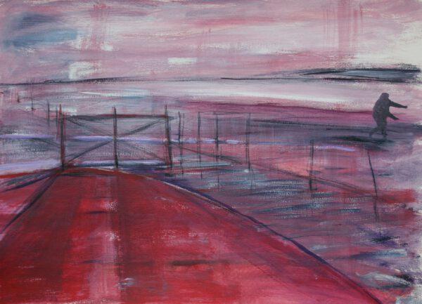 marliesvanzeben_schilderijen_Landschap-rood